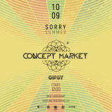 "Concept Market ""Sorry Summer"""