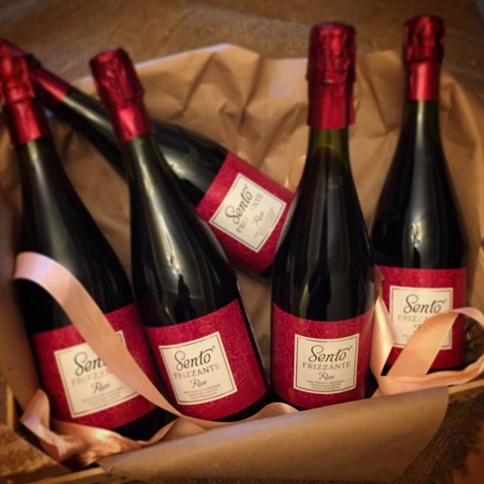 """В нашем магазине появилась красное вино """"Sento Frizzante""""!"""
