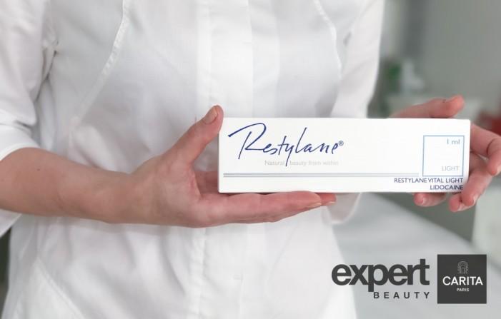 ОГРАНИЧЕННОЕ ПРЕДЛОЖЕНИЕ от Restylane и Дома красоты Expert by Carita Paris!