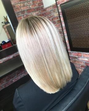 Окрашивание волос для блондинок!