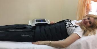 Прессотерапия - лимфодренажный массаж сжатым воздухом. Худеем избавляемся от целлюлита, отеков и варикоза