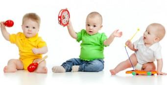 Музыкальные занятия для малышей
