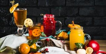 Новые ароматные согревающие фруктово-ягодные коктейли