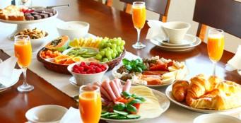 """Завтрак в ресторан """"Crown"""""""