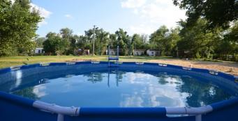 """На территории турбазы """"Донская миля"""" снова появился детский и взрослый бассейн!"""