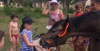 """1 июня прошёл детский праздник на турбазе """"Донская миля""""!"""
