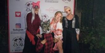 """31 октября в ресторане """"Замок на песках"""" прошла семейная вечеринка Хэллоуин!"""