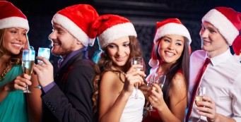 Новогодние корпоративы в кафе «Гранат»