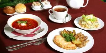 Приглашаем на обеды в кафе «Генацвале»