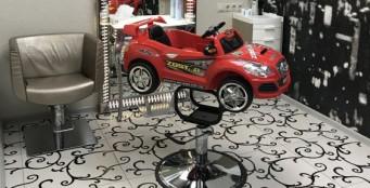 Кресло-машинка для детской стрижки