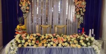 Шикарное оформление свадеб!