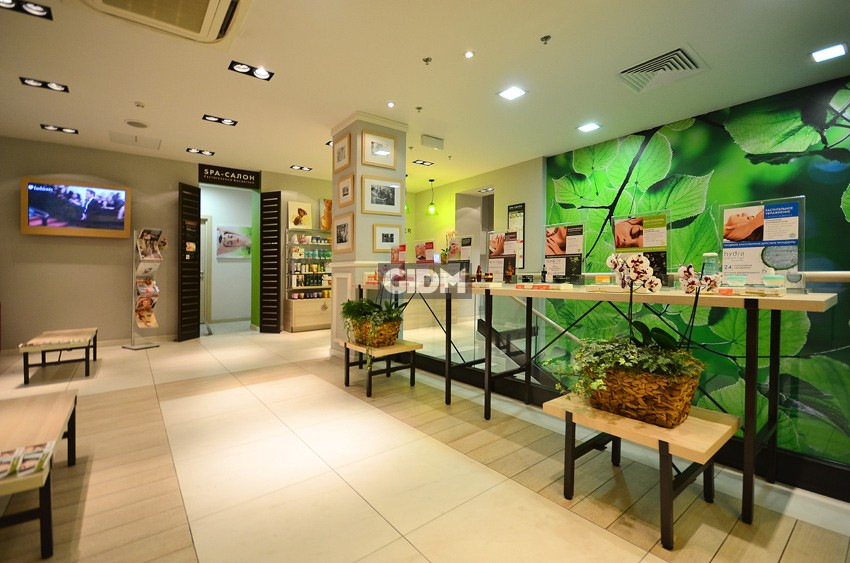 Spa салон растительной косметики