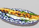 Сулугуни узбекский, жаренный на мангале
