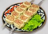 Люля-кебаб из баранины в жировой сетке