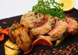 Майями - стейк из Тунца с овощами