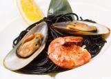 Монте Карло - черная паста с морепродуктами