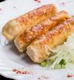 Люля-кебаб из курицы с сыром Моцарелла