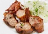 Шашлык из свиной шеи в классическом маринаде