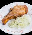 Шашлык из свинины на рёбрышке в маринаде «Барбадос»