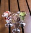 Мороженое ванильное, шоколадное, фисташковое