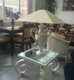 Ковка. Стол и лампа 56000