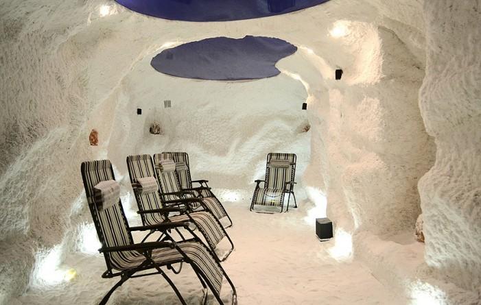 Соляная пещера Волгоград
