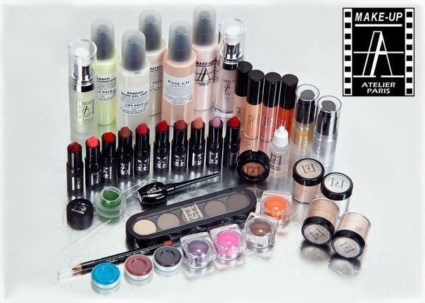 Купить косметику make-up atelier paris